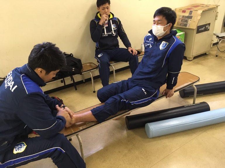 スポーツのケガ|名取市の鍼灸院