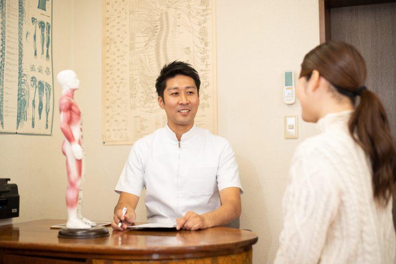 女性鍼灸師・男性鍼灸師が在籍している名取中央治療院