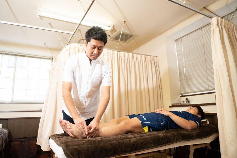 鍼灸施術|名取中央治療院